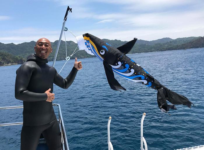 クジラのぼり