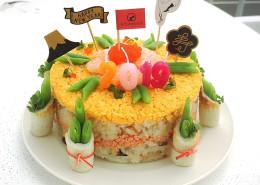 チラシケーキ1