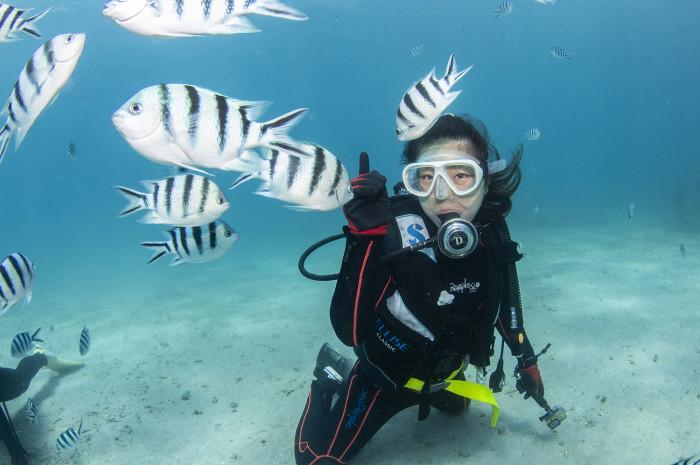 体験ダイビング15