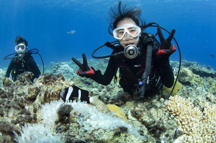 体験ダイビング11b