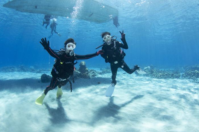体験ダイビング10b