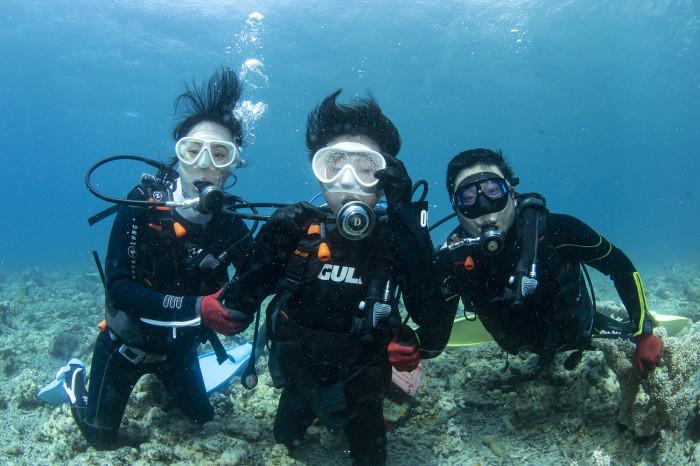 体験ダイビング50