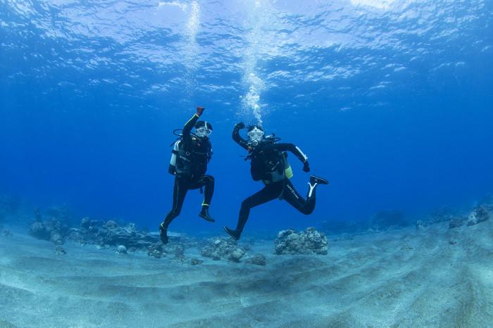体験ダイビング68